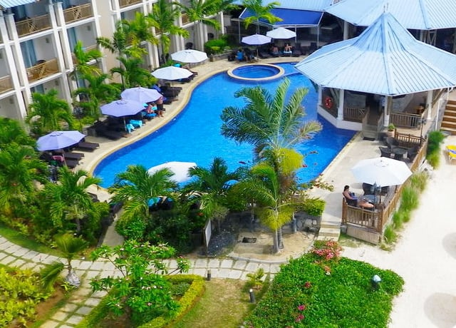 Pearle Beach Resort & Spa Aerial