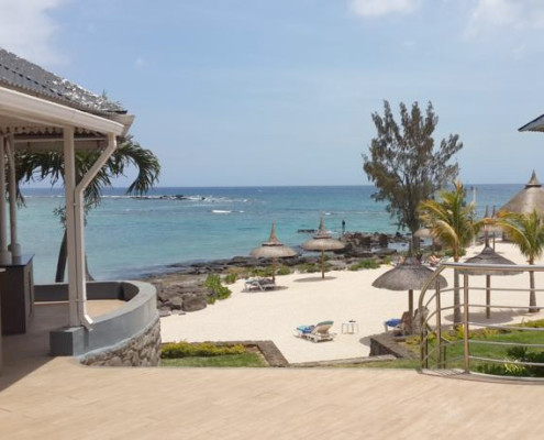 Anelia Beach Resort and Spa Deck