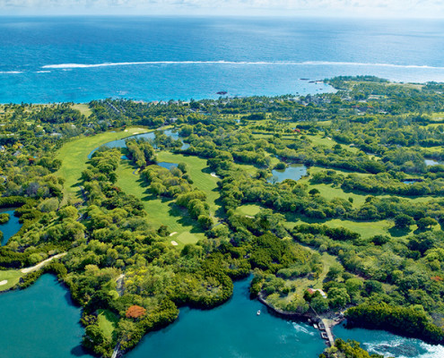 Constance Le Prince Maurice Golf Course Flyover