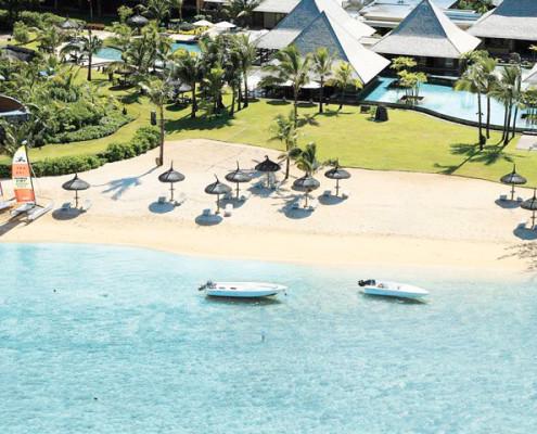 Heritage Awali Golf and Spa Resort Beachfront Aerial