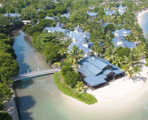 Heritage Le Telfair Golf & Spa Resort Aerial