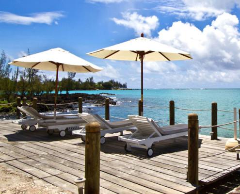 Hibiscus Beach Resort Spa and Dive Club Deckchairs