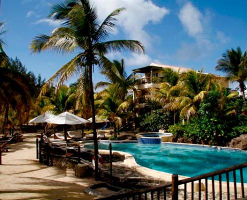 Hibiscus Beach Resort Spa and Dive Club Swimming Pool