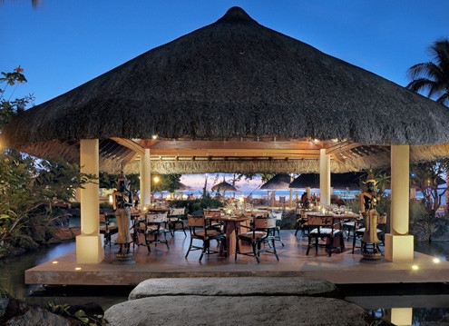 Hilton Mauritius Resort and Spa At Night