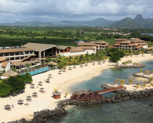 InterContinental Mauritius Resort Aerial