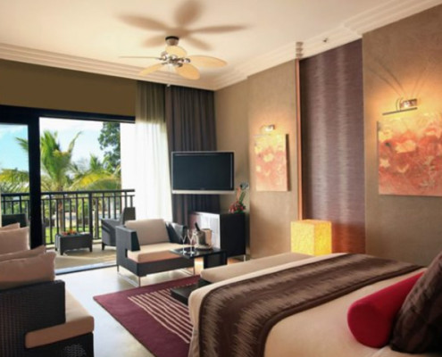 InterContinental Mauritius Resort Bedroom