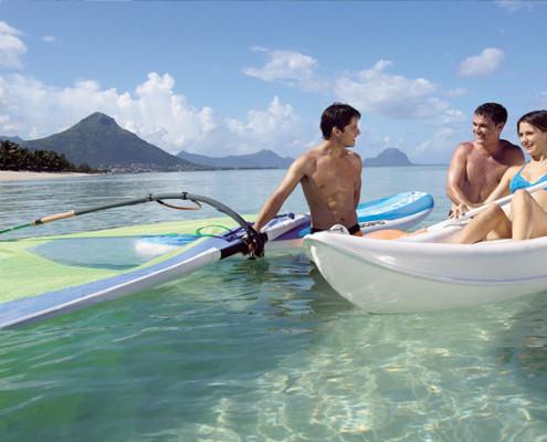 La Pirogue Paddle Ski