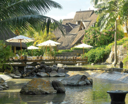 Le Canonnier Hotel Water Feature