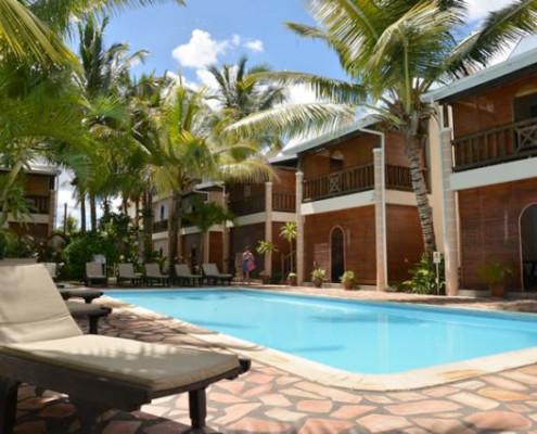 Le Palmiste Resort and Spa Sunbathing