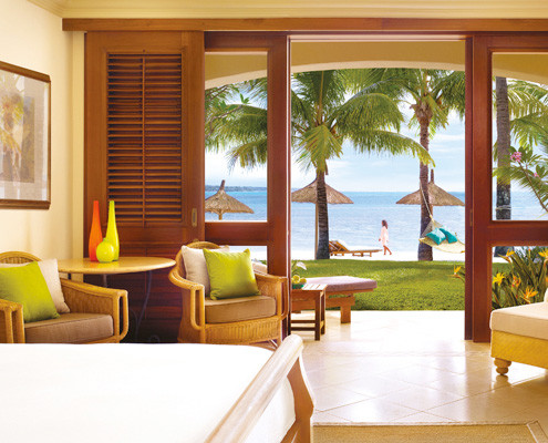 One&Only Le Saint Geran Bedroom