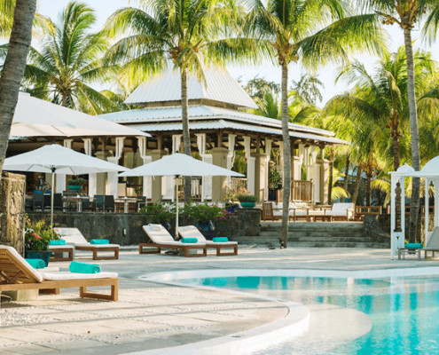 Paradise cove boutique hotel for Swimming pool mauritius