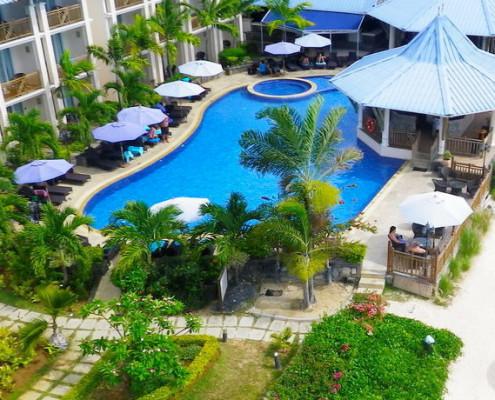 Pearle Beach Resort & Spa Aerial