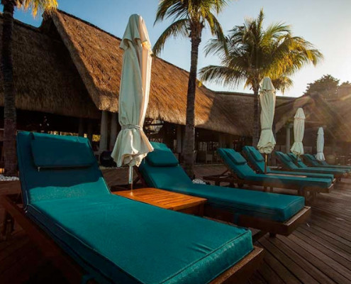 Sands Resort and Spa Deckchairs