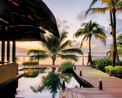 The Trou aux Biches Resort and Spa Deck