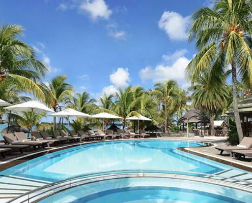 The Veranda Grand Baie Hotel and Spa Pool