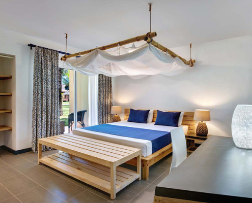 Veranda Pointe aux Biches Hotel Bedroom